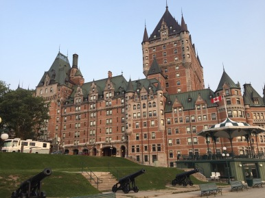Our hotel - Fairmont Le Chateau Frontenac